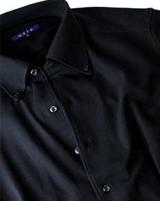 ビズポロ/ドレス仕立てのニットシャツ