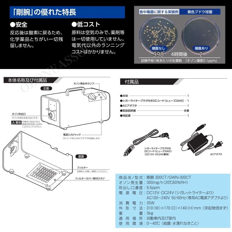 GWN-300CT 自動車脱臭器
