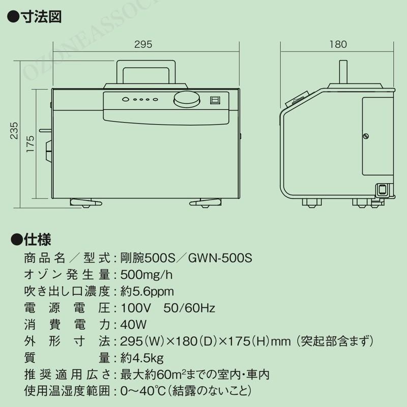 剛腕500S GWN-500S