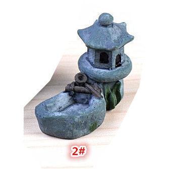 DIY テラリウム フィギュア  ドールハウス ミニチュア 箱庭用 建物 模型 灯篭 苔テラリウム アクアリウム スノードーム コケ 苔 ハンドメイド DIY p-comfort 13