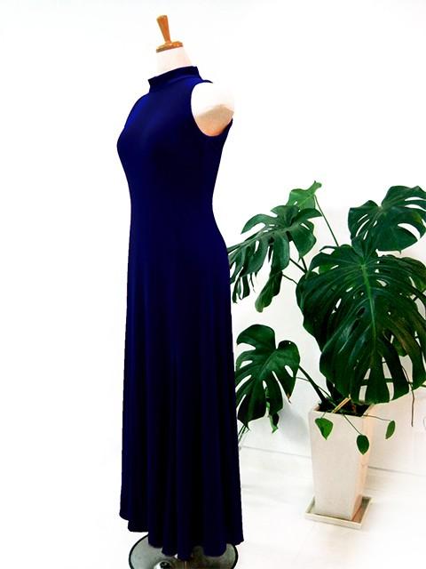 フラダンス衣装ベロアドレス