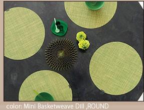 ミニバスケットウィーブ MINI BASKETWEAVE  ROUND ( ラウンド )