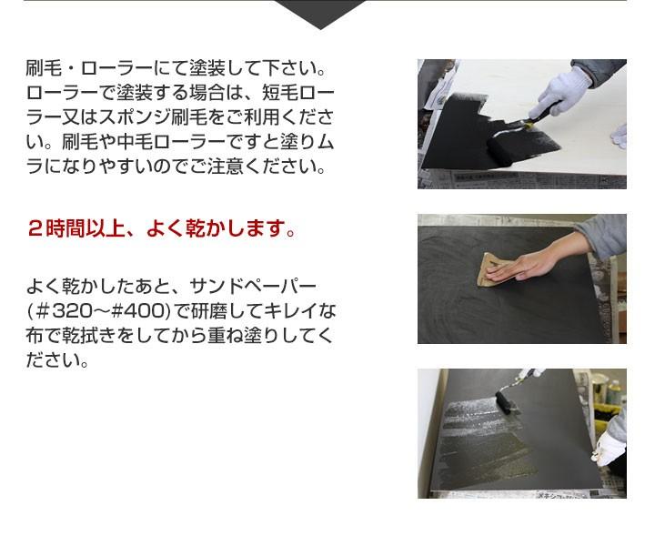 EF黒板ペイントの塗装方法その3