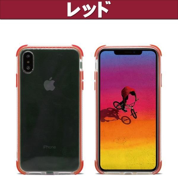 激安!iPhoneX、iPhoneXS用クリアジャケット保護ケース、四角保護、衝撃吸収、ストラップホール付【簡易パッケージ】|pakaruru|20