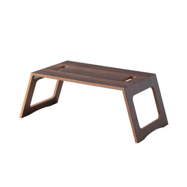 折りたたみ テーブル おしゃれ 簡易 机 ミニフォールディングテーブル 小さ コンパクト 木製 ナチュラル 北欧風インテリア|palette-life|10