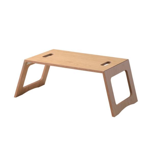 折りたたみ テーブル おしゃれ 簡易 机 ミニフォールディングテーブル 小さ コンパクト 木製 ナチュラル 北欧風インテリア|palette-life|09