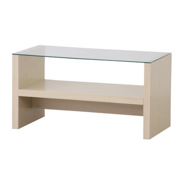 テーブル ガラス ローテーブル センターテーブル おしゃれ 木製 収納付き 75|palette-life|08