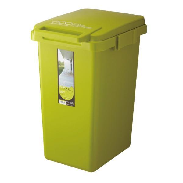 ゴミ箱 おしゃれ キッチン 45リットル 屋外 分別 フタ付き ダストボックス 連結 シンプル|palette-life|20
