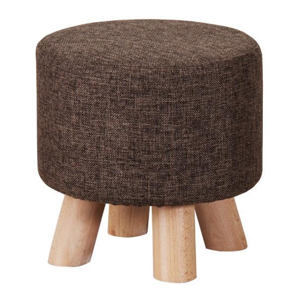 スツール チェア 椅子 コンパクト イス 子供 北欧 木製 ラウンド 丸型 カバー|palette-life|07