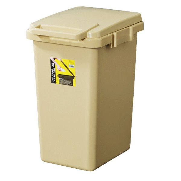 ゴミ箱 おしゃれ キッチン 45リットル 屋外 分別 フタ付き ダストボックス 連結 シンプル|palette-life|22