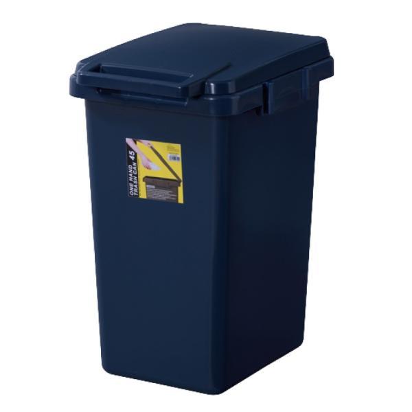 ゴミ箱 おしゃれ キッチン 45リットル 屋外 分別 フタ付き ダストボックス 連結 シンプル|palette-life|24