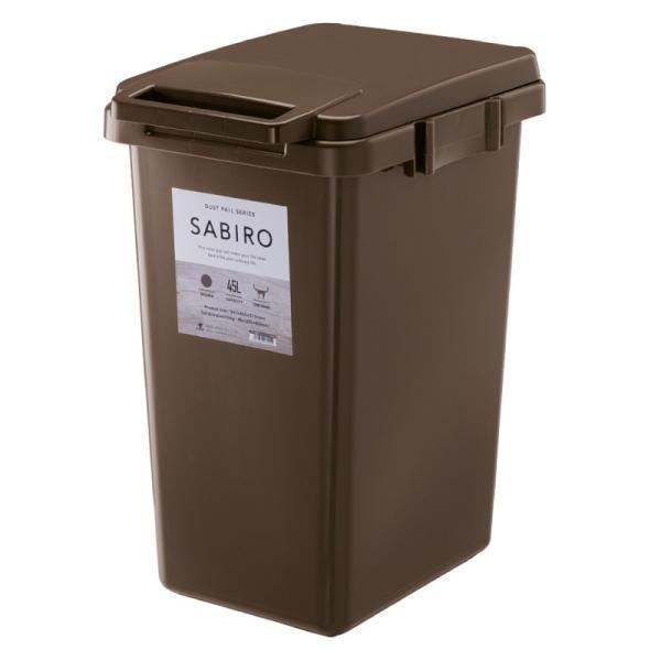 ゴミ箱 おしゃれ キッチン 45リットル 屋外 分別 フタ付き ダストボックス 連結 シンプル|palette-life|18