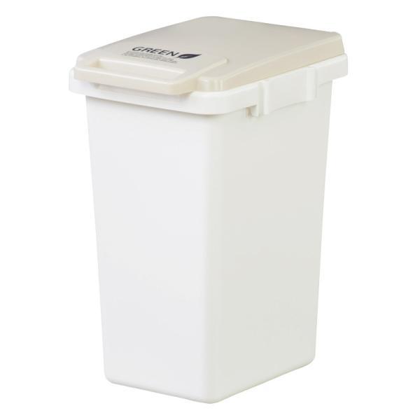 ゴミ箱 おしゃれ キッチン 45リットル 屋外 分別 フタ付き ダストボックス 連結 シンプル|palette-life|21