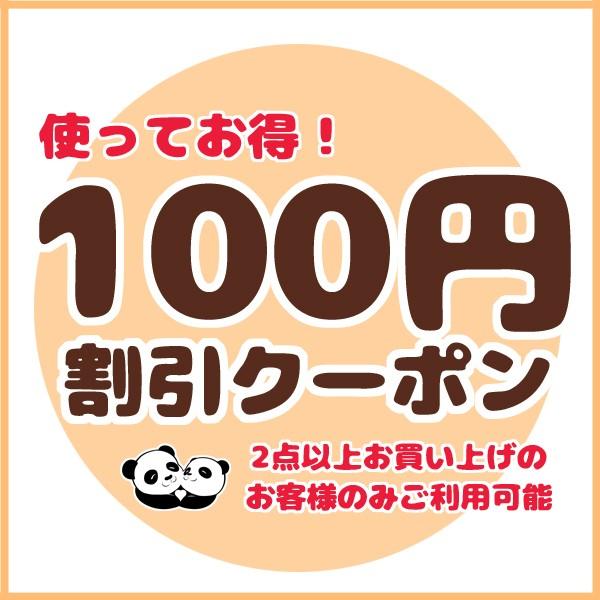パンダファミリーYahoo!店 2点以上購入で100円引きクーポン券