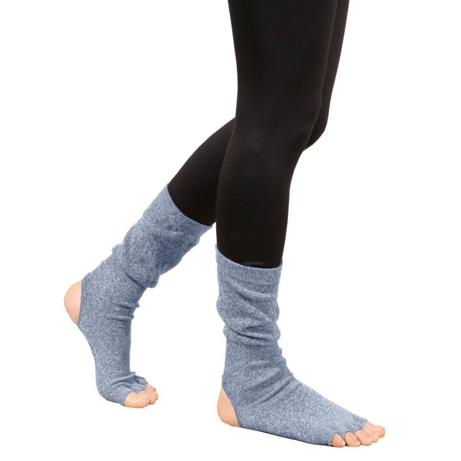 ヨガソックス 靴下 5本指 指なし 滑り止め 5本指 指なし健康ソックス レディース 冷え性対策 フィットネス 秋|panetone|17