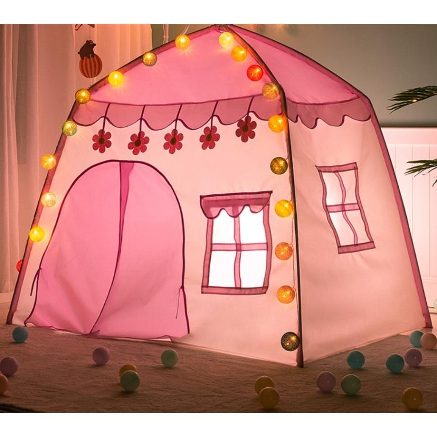 キッズ テント ハウス 子供プレゼント プレイハウス 室内 屋内 ベビー 幼児 おもちゃ おままごと 秘密基地 隠れ家 子供部屋 ギフト Panni 送料無料 panni-fashion 19