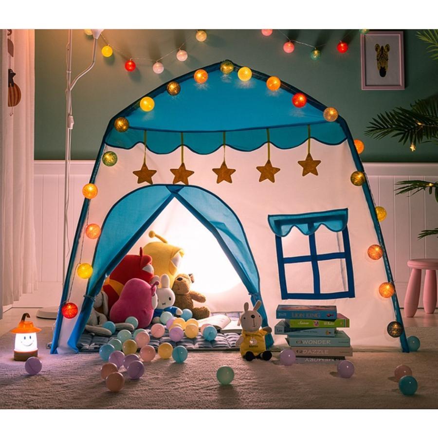 キッズ テント ハウス 子供プレゼント プレイハウス 室内 屋内 ベビー 幼児 おもちゃ おままごと 秘密基地 隠れ家 子供部屋 ギフト Panni 送料無料 panni-fashion 20