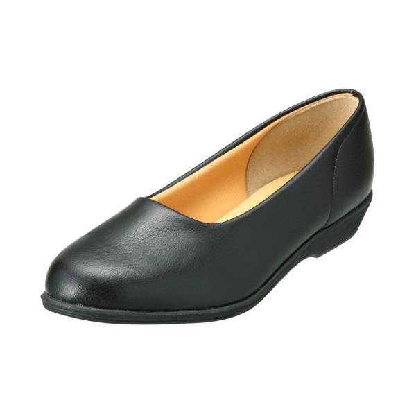 パンプス レディース 疲れにくい 冠婚葬祭 軽い フラット 日本製 靴 3E パンジー pansy 4060|pansystore|07
