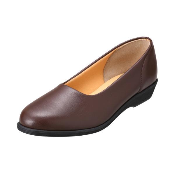 パンプス レディース 疲れにくい 冠婚葬祭 軽い フラット 日本製 靴 3E パンジー pansy 4060|pansystore|08