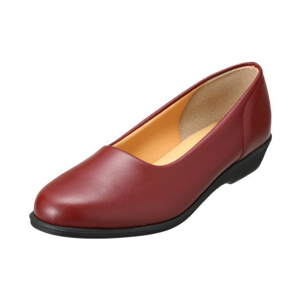 パンプス レディース 疲れにくい 冠婚葬祭 軽い フラット 日本製 靴 3E パンジー pansy 4060|pansystore|09