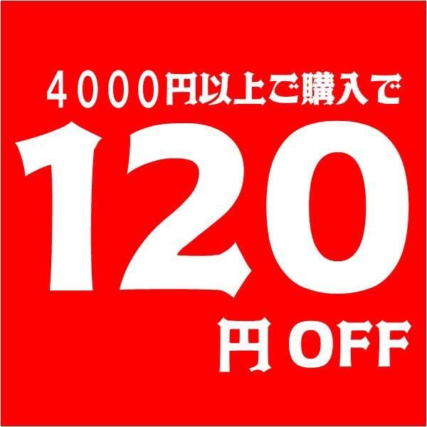 4000円以上ご購入で120円OFF