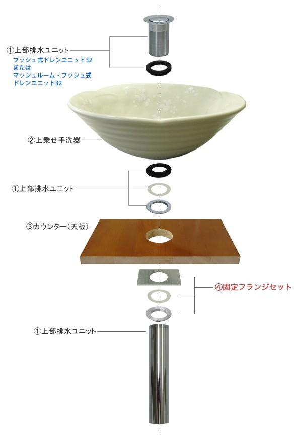 卓上手洗器設置イメージ
