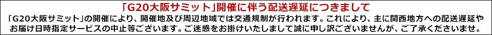 大阪G20遅延