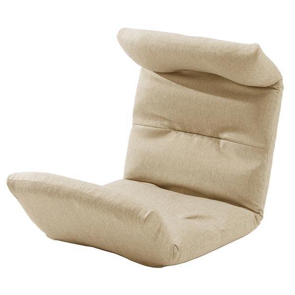 座椅子 リクライニング コンパクト へたりにくい ハイバック 送料無料 【スウェイト swait】  / 座いす 座イス おしゃれ【CT】|patie|10