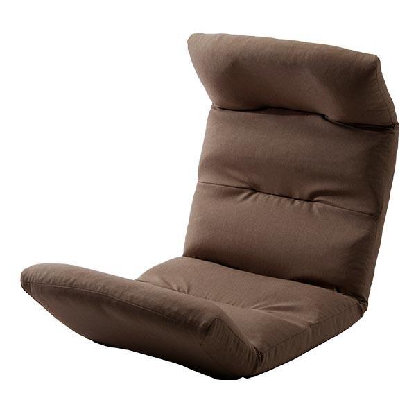座椅子 リクライニング コンパクト へたりにくい ハイバック 送料無料 【スウェイト swait】  / 座いす 座イス おしゃれ【CT】|patie|11