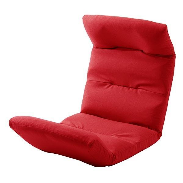 座椅子 リクライニング コンパクト へたりにくい ハイバック 送料無料 【スウェイト swait】  / 座いす 座イス おしゃれ【CT】|patie|12