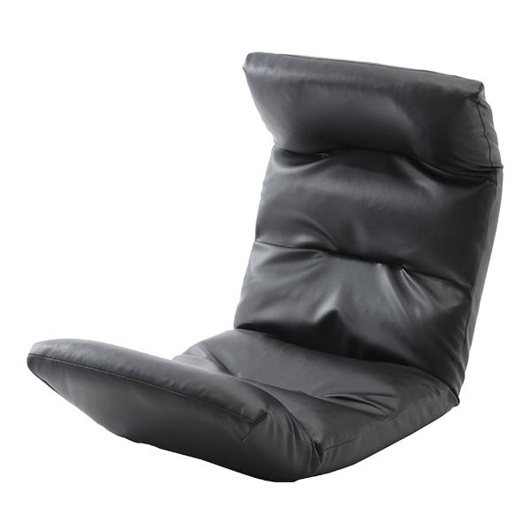 座椅子 リクライニング コンパクト へたりにくい ハイバック 送料無料 【スウェイト swait】  / 座いす 座イス おしゃれ【CT】|patie|20