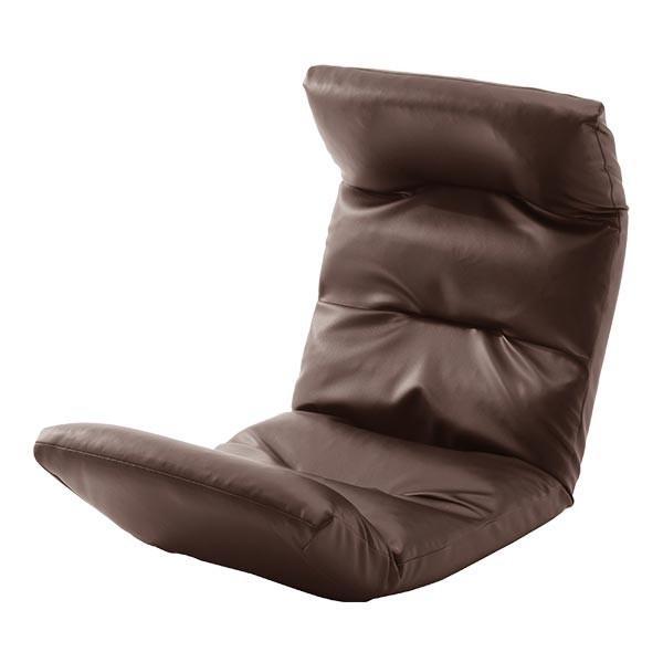 座椅子 リクライニング コンパクト へたりにくい ハイバック 送料無料 【スウェイト swait】  / 座いす 座イス おしゃれ【CT】|patie|18