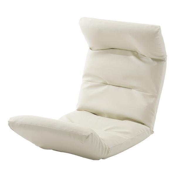 座椅子 リクライニング コンパクト へたりにくい ハイバック 送料無料 【スウェイト swait】  / 座いす 座イス おしゃれ【CT】|patie|21