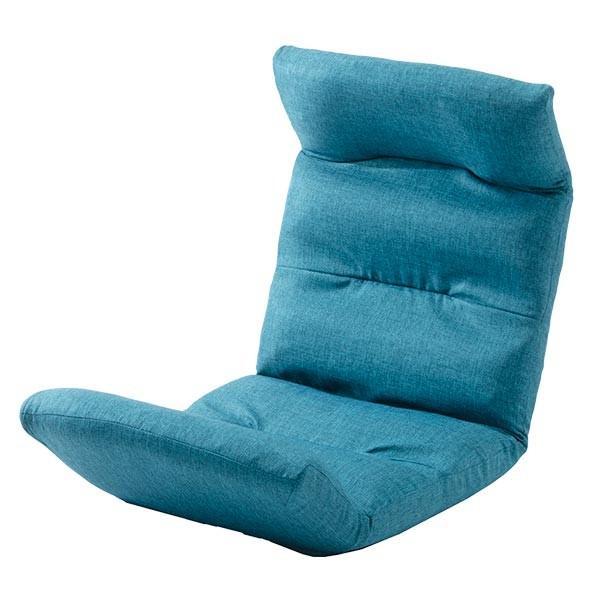 座椅子 リクライニング コンパクト へたりにくい ハイバック 送料無料 【スウェイト swait】  / 座いす 座イス おしゃれ【CT】|patie|15