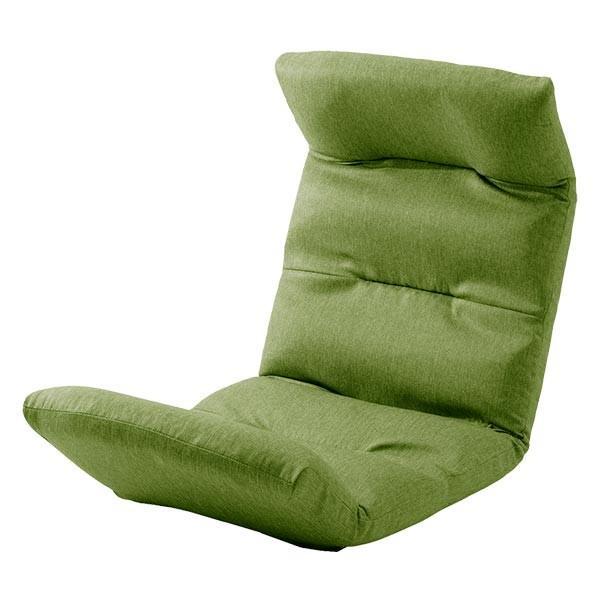 座椅子 リクライニング コンパクト へたりにくい ハイバック 送料無料 【スウェイト swait】  / 座いす 座イス おしゃれ【CT】|patie|14