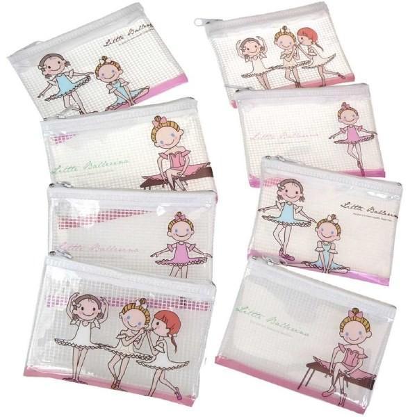 バレエ 小物 ビニールバッグ 8個セット 用品 雑貨 プレゼント 安い 配布用 発表会 patty 11