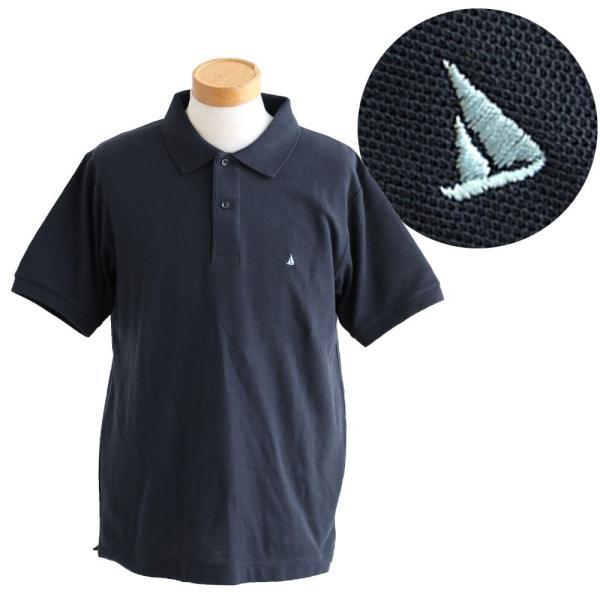 ポロシャツ 半袖 リブ衿 5.3オンス 吸汗 速乾 消臭テープ UV 紫外線 形状安定 刺繍 春 夏 SAIL レディース メンズ paty 09