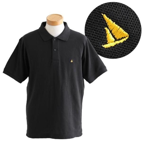 ポロシャツ 半袖 リブ衿 5.3オンス 吸汗 速乾 消臭テープ UV 紫外線 形状安定 刺繍 春 夏 SAIL レディース メンズ paty 10