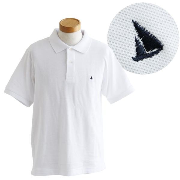 ポロシャツ 半袖 リブ衿 5.3オンス 吸汗 速乾 消臭テープ UV 紫外線 形状安定 刺繍 春 夏 SAIL レディース メンズ paty 11