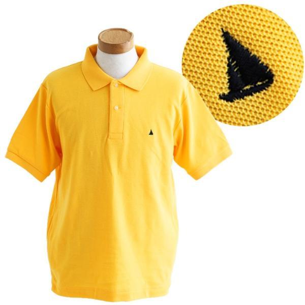 ポロシャツ 半袖 リブ衿 5.3オンス 吸汗 速乾 消臭テープ UV 紫外線 形状安定 刺繍 春 夏 SAIL レディース メンズ paty 15
