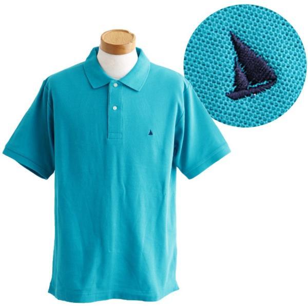 ポロシャツ 半袖 リブ衿 5.3オンス 吸汗 速乾 消臭テープ UV 紫外線 形状安定 刺繍 春 夏 SAIL レディース メンズ paty 17