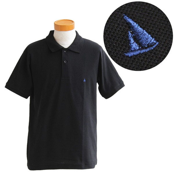 ポロシャツ 半袖 リブ衿 5.3オンス 吸汗 速乾 消臭テープ UV 紫外線 形状安定 刺繍 春 夏 SAIL レディース メンズ paty 18