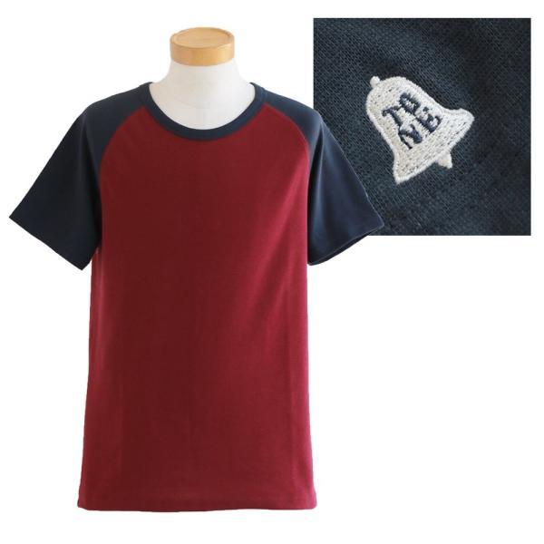 半袖 Tシャツ カットソー ラグラン 配色切り替え 「吸湿 速乾 COOL PLUS」 涼しい 肉厚  おしゃれ メンズ レディース TOneontoNE 夏|paty|10