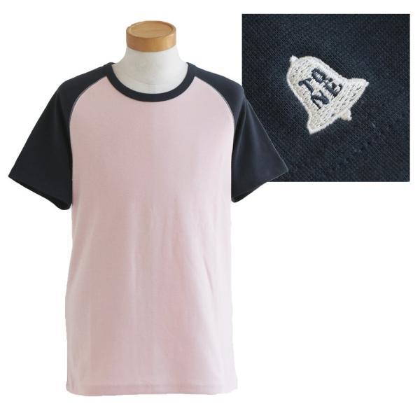 半袖 Tシャツ カットソー ラグラン 配色切り替え 「吸湿 速乾 COOL PLUS」 涼しい 肉厚  おしゃれ メンズ レディース TOneontoNE 夏|paty|12