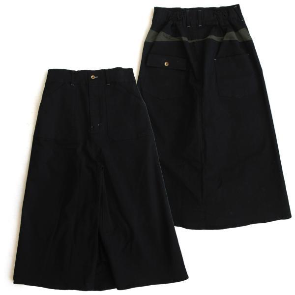ガウチョパンツ スカーチョ ワイドパンツ マキシスカート風 ウエストゴム ストレッチ入り 大きいサイズ|paty|22