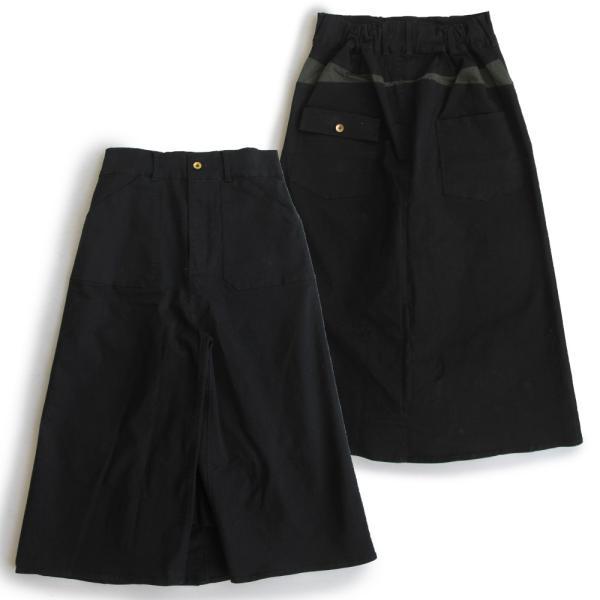 ガウチョパンツ スカーチョ ワイドパンツ マキシスカート風 ウエストゴム ストレッチ入り 大きいサイズ|paty|24