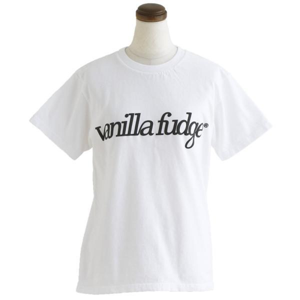 Tシャツ 半袖 クルーネック レディース ロゴプリント ボックスシルエット ユースサイズ Tee ヨレにくい  半袖シャツ  Vanilla fudge 夏 おしゃれ|paty|09