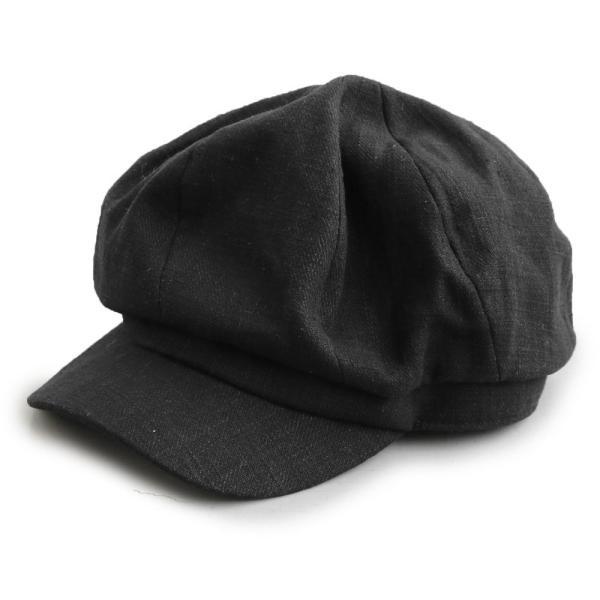 キャスケット T.HAL 帽子 ぼうし キャップ 麻 麻素材 サイズ調整 チクチク感軽減 ドライ (グレース) grace  レディース メンズ|paty|07
