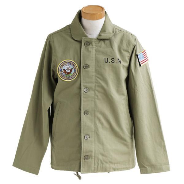 N-1 DECKジャケット シャツジャケット ミリタリー シャツ ジャケット 星条旗 アメリカ海軍  (ヒューストン) HOUSTON|paty|08