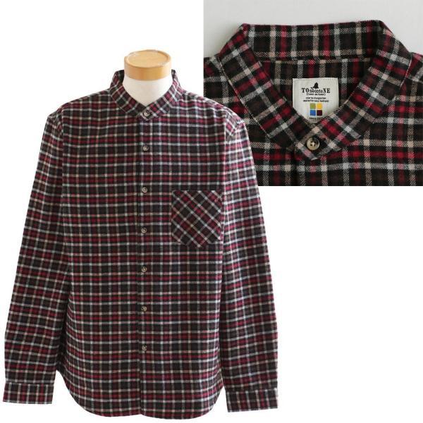 【A-暖か裏付】長袖シャツ ネルシャツ チェックシャツ シャツ  総裏地 フリース ボア フランネル チェック メンズ レディース 40代 50代 paty 23